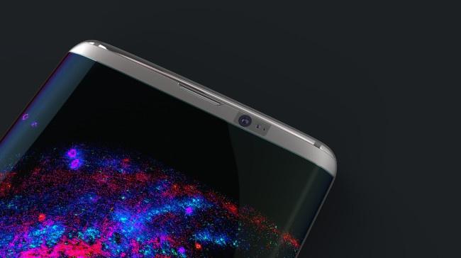 cámara frontal del Samsung Galaxy S8