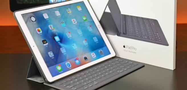 iPad Pro keyboard connector