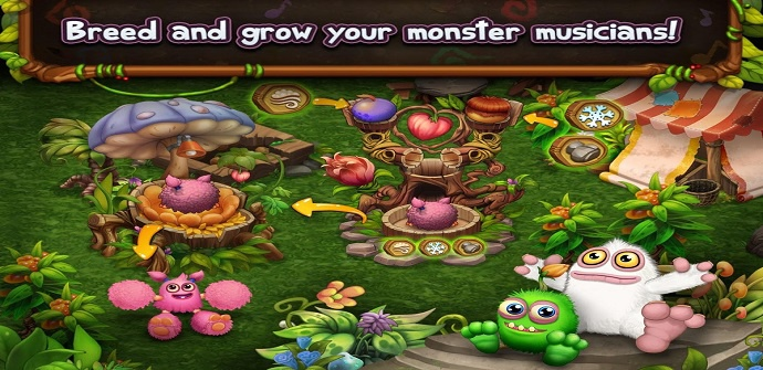my singing monsters escenario