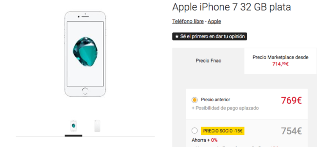 iphone 7 fnac