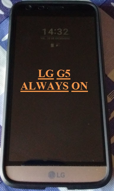 Always On del LG G5