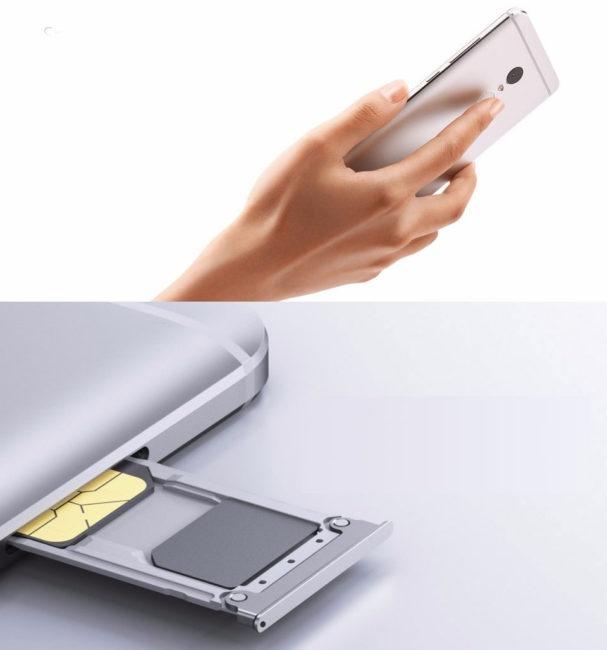 Xiaomi Redmi Note 4 doble SIM y lector de huellas dactilares