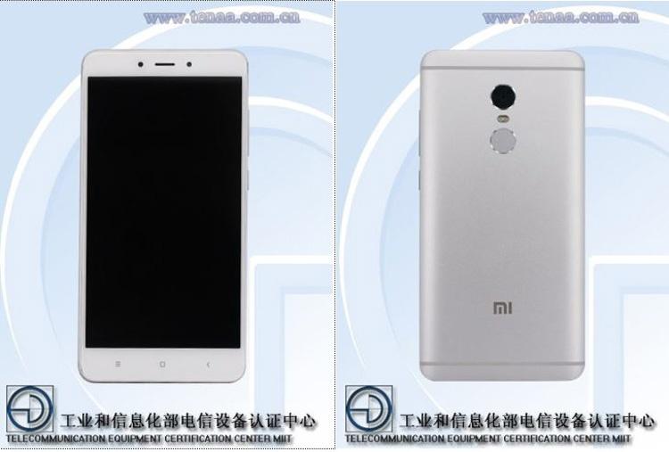Características del Xiaomi Redmi Note 4X en la TENAA