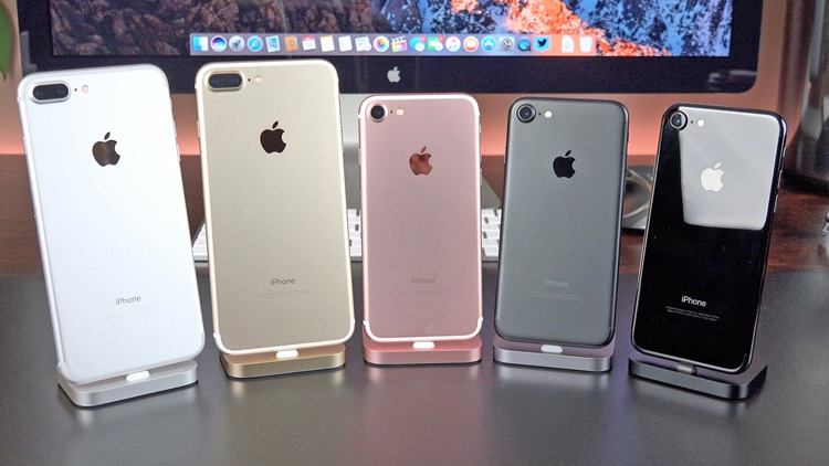 Tamaño del iPhone 7 frente al del iPhone 7 Plus