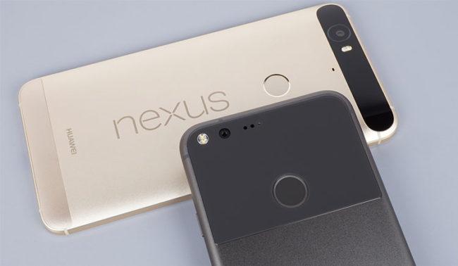 Actualización con Android 7.1.1 para los Google Pixel y Nexus compatibles