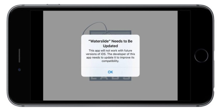 Aviso sobre soporte de apps con 64 bits en iOS 10.3 Beta