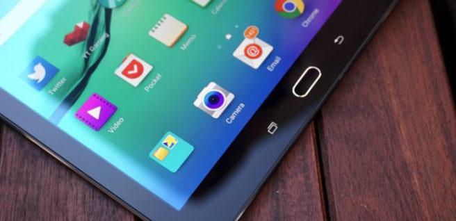 Galaxy Tab S2 capa de personalizacion