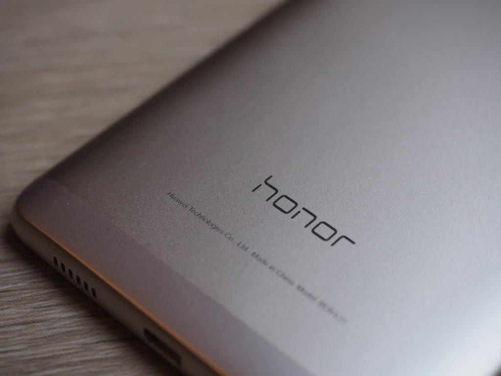 Honor 6x detalle del logo