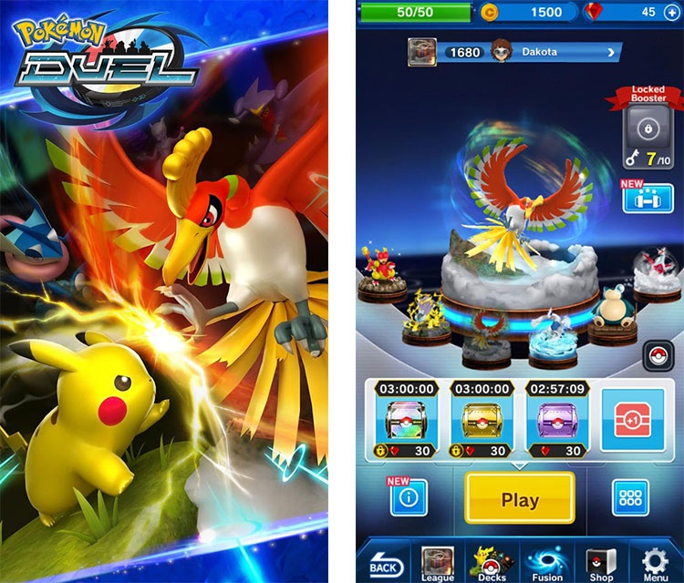 pokemon duel ios