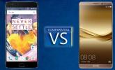 Comparativa del OnePlus 3T frente al Huawei Mate 9