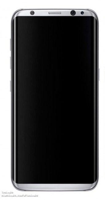 Imagen de prensa del Samsung Galaxy S8