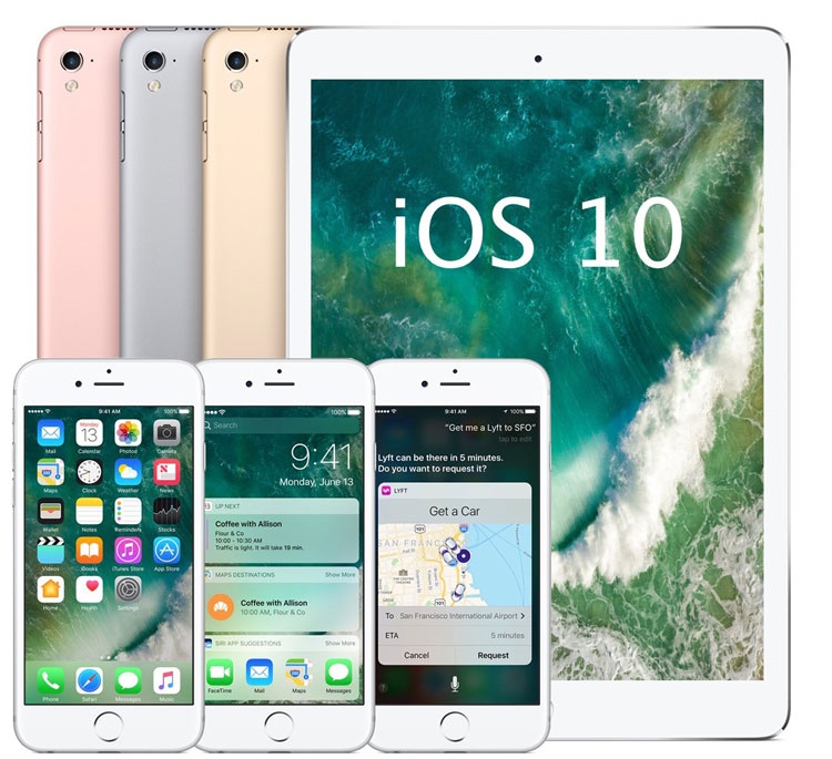 Actualización iOS 10.2.1 para iPhone y iPad