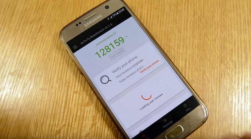 Rendimiento del Samsung Galaxy S7 con la ROM Helios Nougat