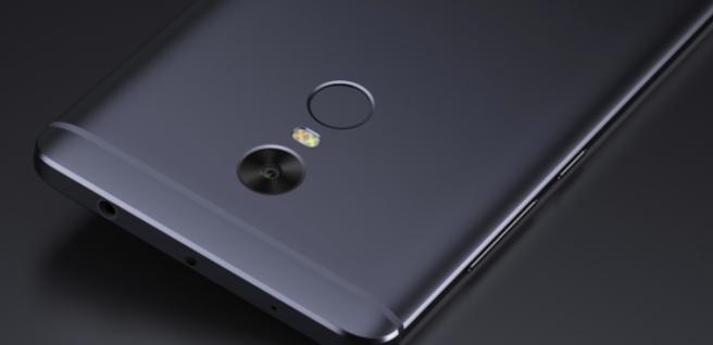 Xiaomi Redmi Note 4 trasera