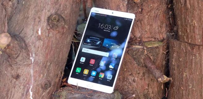 Tablet Huawei MediaPad M3 Android y EMUI