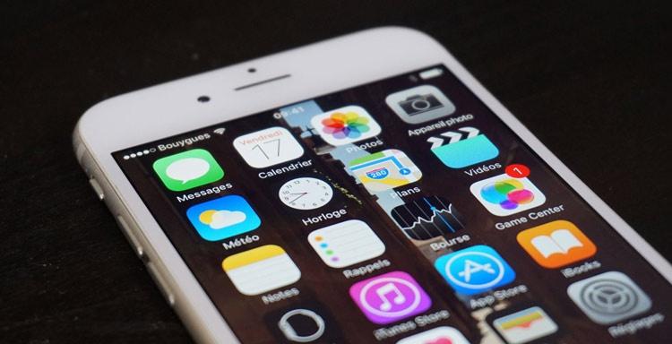App de iMessage en iPhone