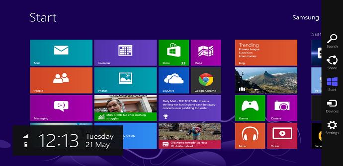 windows 8 interfaz tablet