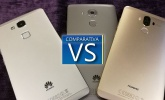 Huawei Mate 9 VS Huawei Mate 8 VS Mate 7: comparativa con todas las diferencias