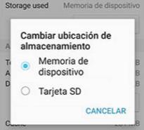 Samsung mover aplicacion SD