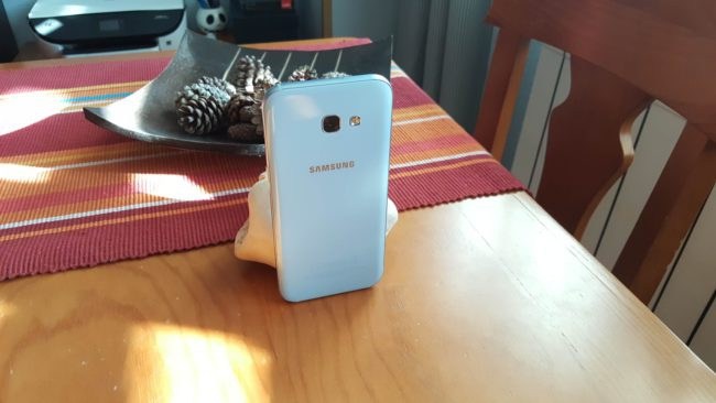 Imagen trasera del Samsung Galaxy A5 2017